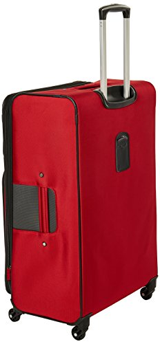 Samsonite Aspire XLite Softside Expandable Luggage with Spinner Wheels, Red, Checked-Large 29-Inch