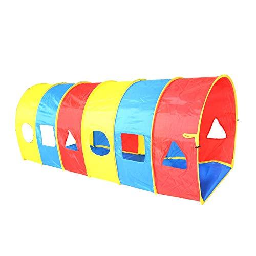 Z-Tapestry Z-w-Dong Los túneles de Arco de Juego, Surge el túnel Juego de niños Zona de Juegos Tiendas de campaña túnel Playhouse Niños Juego Túnel - Parte Inferior Espesado Tiendas de campaña