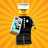 LEGO Series 18 Collectible Party Minifigure - Retro Police Officer 1978 (71021)