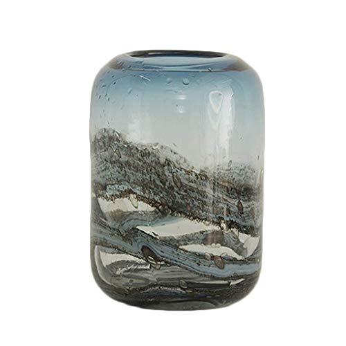 Vase Keramik Vase Blumeneinsatz Chinesische Keramik TV-Schrank DecoratioHome Wohnzimmer Zubehör Vasen Dekorationen
