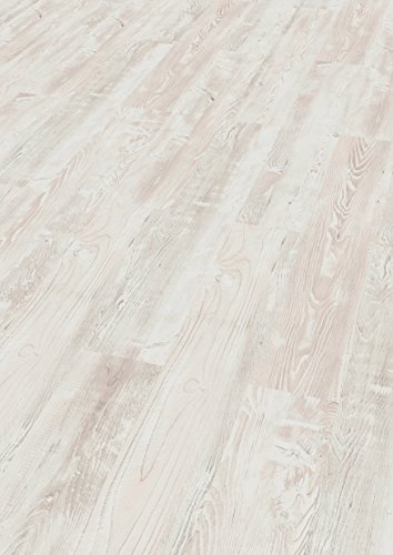 EGGER Home Laminat hell grau Holzoptik - Cascina Pinie  EHL017 (7mm, 2,481 m²) Klick Laminatboden | Bodenbelag
