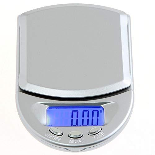 Balanza digital portátil Mini balanza de bolsillo con retroiluminación Gramo Balanza Mini balanza electrónica Balanza digital portátil 200g 0.01g
