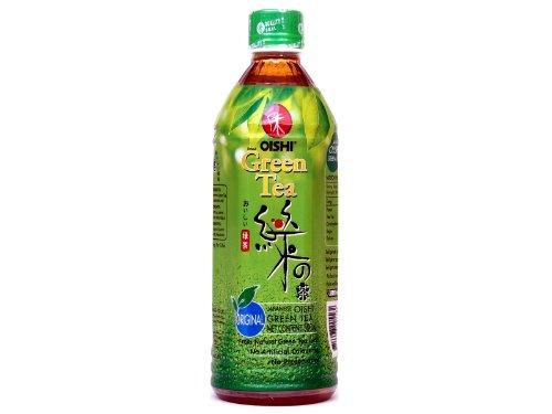 Oishi - Grüner Tee Getränk, Original - mit Fruchtzucker - 500ml - Drink aus Thailand