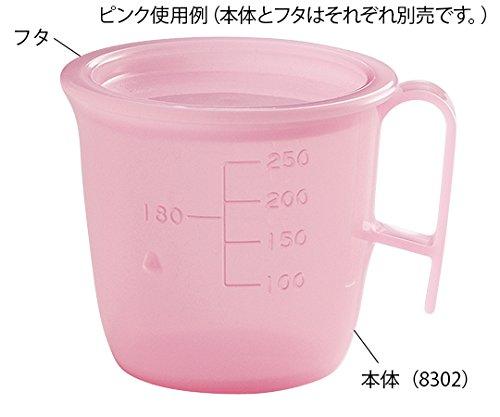 信濃化学工業8-8626-02流動食コップ300mL本体ピンク
