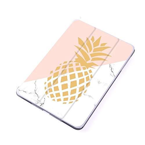 ghn Funda para iPad Air 2 Mini 4 (piel sintética, cierre magnético), diseño de hojas de verano