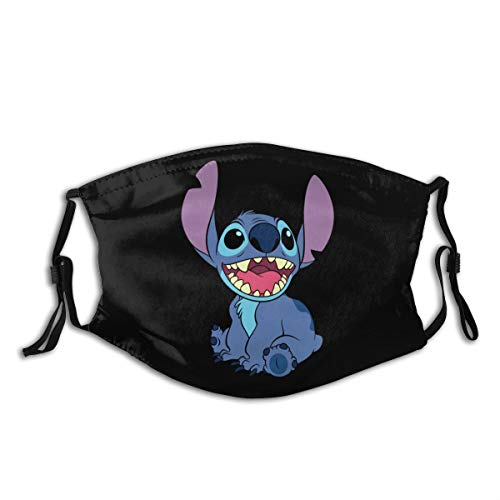 Adjustable and Replaceable Outdoor Mask Lilo and Stitch Outer Masks
