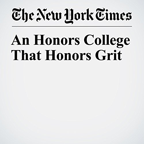 An Honors College That Honors Grit copertina