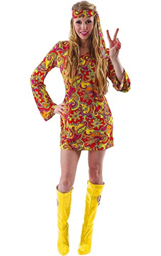 Female Hippie Costume - Small