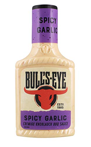 Bull's-Eye - Spicy Garlic Knoblauch-BBQ-Sauce - 300ml