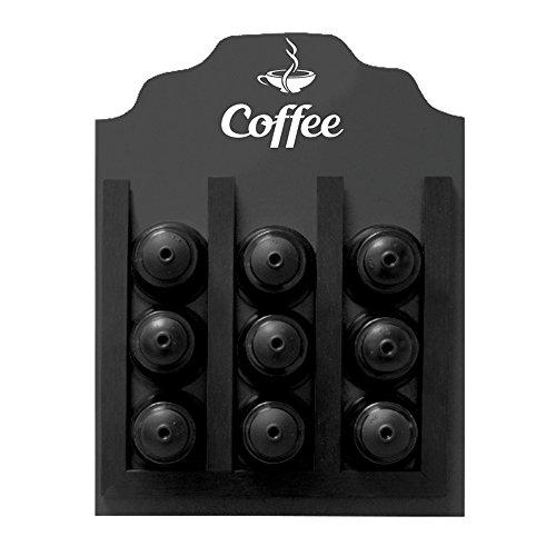 Porta-Cápsula Dolce Gusto Coffee 23X30cm Kapos Preta 23X30