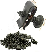 TREW 30 sets M4 M5 4.2mm 4.8mm Plastic Cover Metal Retainer Tapschroef Clips for Motorcycle Car Scooter Bromfiets Ebike (C...