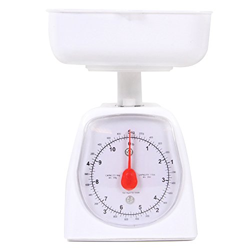 hand2mind - 21260 Dual-Dial Analog Platform Scale - Simple Enough for Kids and Great with Kitchen Food