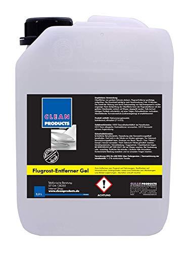 Cleanproducts Produit Anti-rouille 2,3 Litre - sans Acide & Ph Neutre - pour Voiture, Camion, Bus, Remorque, Rouille Taches, Béton, Granit, Outillage, Métal Alliages