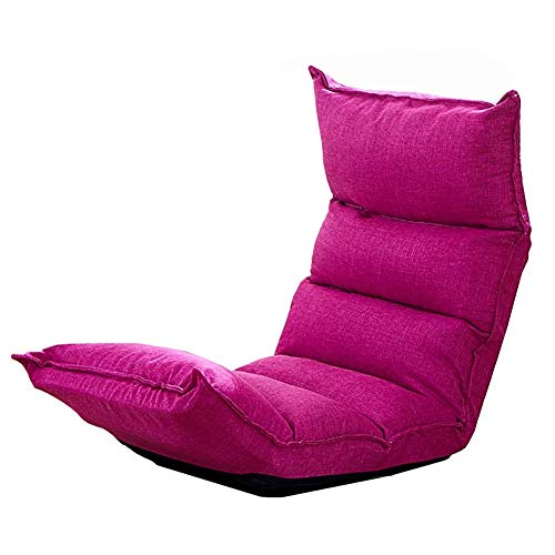 MMMP Lazy Sofa Chairs,Folding Living Room Floor Gaming Sofa Chair With Adjustable Position Design, Foldable Lazy Recliner Sofa Bed,Comfortable Soft Durable Strong (Color : #5) (Color : B)