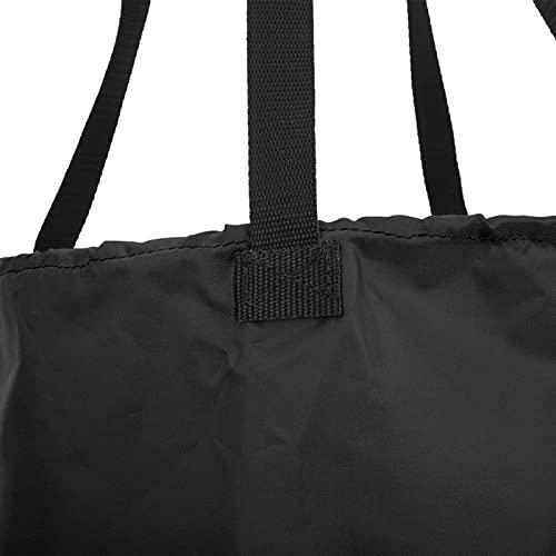 Oreilet Schwimm-Drag-Fallschirm, Einstellbarer Übungs-Drag-Fallschirm, für Fitness-Schwimmtrainer Schwimm-Schwimmzubehör(Black)