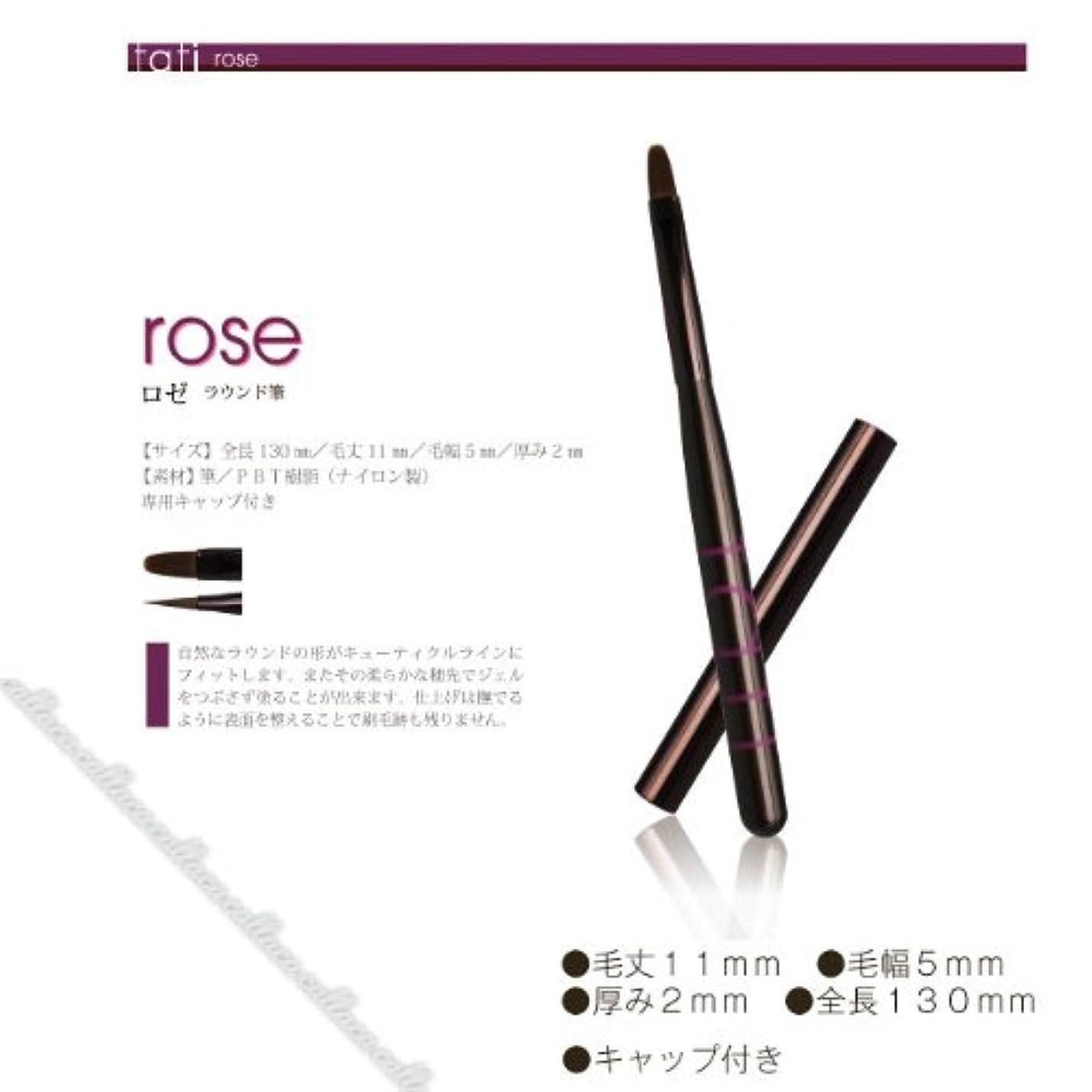 顔料無傷摂氏tati ジェル ブラシアートショコラ rose (ロゼ)