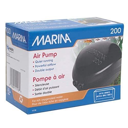 Marina Durchlüfterpumpe 200 für Aquarien bis 225 Liter