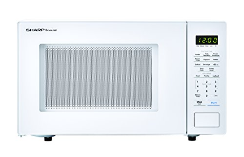 1100 watt white microwave - 9