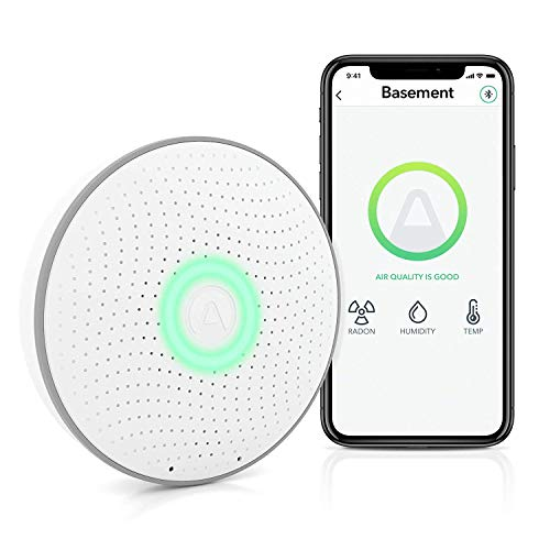Airthings Wave 2nd Generation Smart Radon & Air Quality Detector - $149.99
