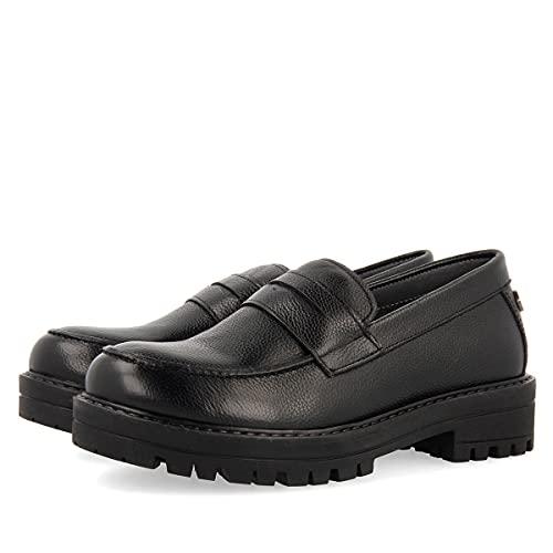 Zapato colegial Negros para niña NAMASTIR