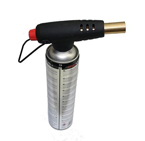 Piezo-Lötbrenner PV900 mit 1 Kartusche Turbogas auch Überkopfbetrieb möglich