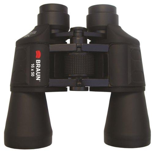 Braun 16x 50Universal EIN Fernglas, schwarz