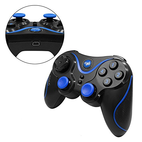 Eaxus® Android Bluetooth Game Controller/Gamepad Für Handy, Smartphone, Mobile, Tablet, TV, FireTV, Android - Kompatibel Mit Spielen Aus Dem Play Store, Geeignet Für Virtual Reality Google Cardboard