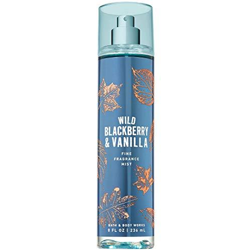 Bath and Body Works Wild Blackberry Vanilla Fine Fragrance Mist 8 Fluid Ounce 2019 Limited Edition