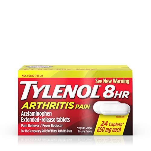 TYLENOL ARTHRITIS CAPLET 24CP