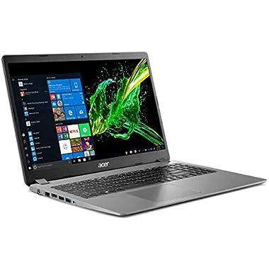 2020 Acer Aspire 3 15.6″ Full HD 1080P Laptop PC, Intel Core i5-1035G1 Quad-Core Processor, 8GB DDR4 RAM, 256GB SSD, Ethernet, HDMI, Wi-Fi, Webcam, Numeric Keypad, Windows 10 Home, Steel Gray