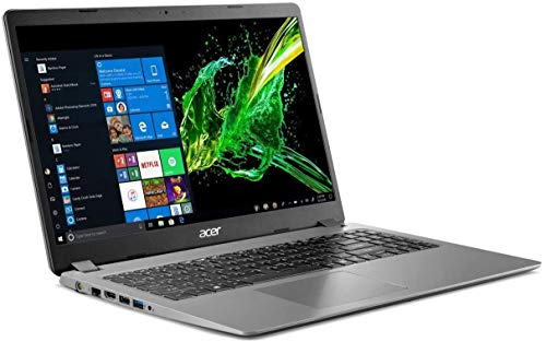 2020 Acer Aspire 3 15.6' Full HD 1080P Laptop PC, Intel Core i5-1035G1 Quad-Core Processor, 8GB DDR4 RAM, 256GB SSD, Ethernet, HDMI, Wi-Fi, Webcam, Numeric Keypad, Windows 10 Home, Steel Gray