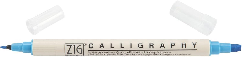 USA Produkt Produkt Produkt - Zig Memory System Kalligraphie Dual-Tip Marker (verpackt)-Baby Blau B0055DATZI     | Verschiedene Stile und Stile  5d82b9