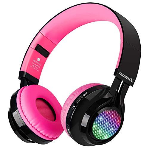 Bluetooth Headset, Riwbox AB005 Wireless Headphones 5.0...