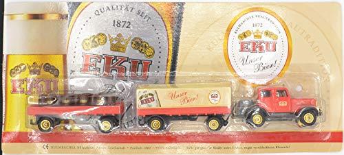 EKU Nr.32 - Unser Bier - Faun L8 - Traktor mit 2 Hängern