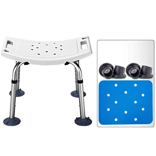 Taburetes de baño, banco de transferencia de bañera de alta resistencia, silla de ducha ajustable para discapacitados con ayuda de baño para discapacitados, personas mayores, bariátrica (300 libra ✅