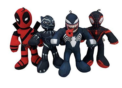 Marvel 9 Inch Character 4 Pak Deadp…