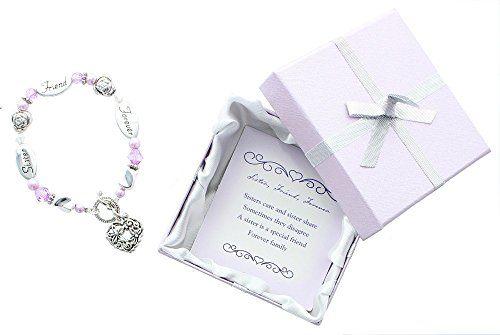 DMM001 Sister Expressively Yours Bracelet. Toggle Closure.