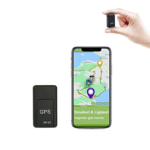 ZOYHYOZ Mini GPS Car Tracker, Voice Recorder GPS Locator Tracker, 300mA GPS Smart Magnetic Tracker for Vehicle/Person Location System