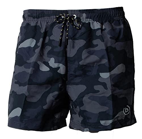 Bugatti Swim Shorts, Blue Camouflage, L