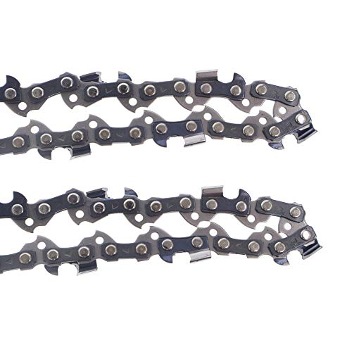 Kohnkdllc Pack of 2 14 inch Chainsaw Chains 3/8 LP .050 Inch 52 Drive Links fits for Craftsman Poulan Ryobi Homelite Echo