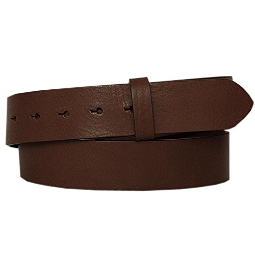 LORD OF LABEL GBGL2051 - Cinghia per cintura, colore: Marrone marrone 115 cm