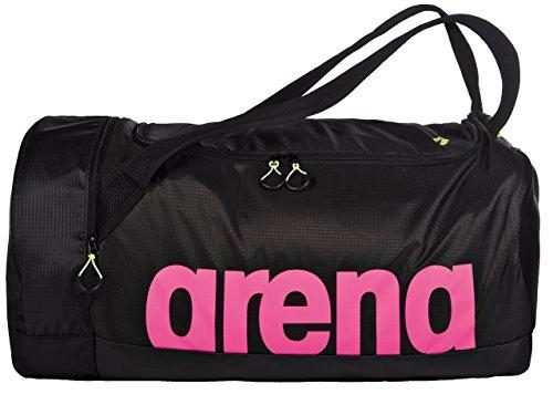arena Unisex Schwimmtasche Trainingstasche Fast Duffle (Geräumig, Wasserwabweisend, 55x30x30cm), Fuchsia Black (95), One Size