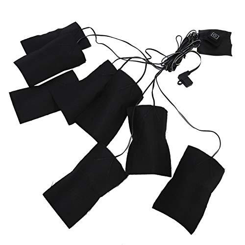 暖房布ヒーター冬用完全防水電気肩加熱パッド、電気加熱マットレスパッド、ベスト服用靴ウエストプロテクター