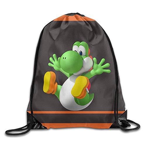 JMAKI Yoshi Unisex Drawstring Sack Bag Turnbeutel Hipster Sporttaschen,Unisex Gym Sack Beutel Totem Geometrisches Muster Sportbeutel Tüte Rucksack mit