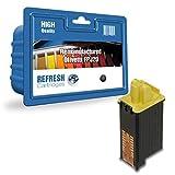 Refresh Cartridges Remanufacturado Cartucho de Tinta Recambio para Olivetti FPJ20/84431 (Negro)