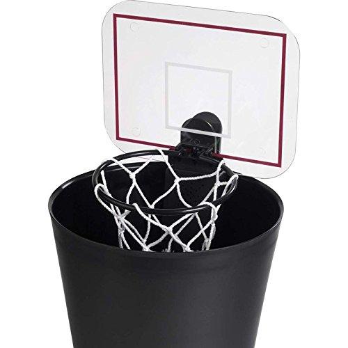 Basketball Bürospiel für den Mülleimer mit Sound - Basketball Korb Bürogadget Basketballkorb für den Mülleimer mit Sound
