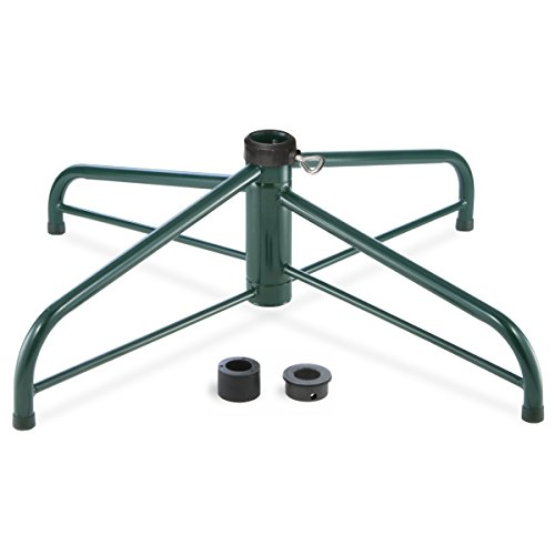 National Tree Company Christmas Tree Stand Fits 1.25 or 2 Inch Pole, Folding Stand-32 Inch