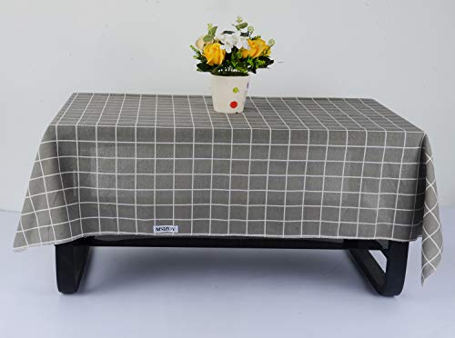 MSIZOY Table Pads,Outdoor Table Cloth for Picnic, Summer Checkered Rectangle Tablecloth for Family Dinners Or Gatherings, Indoor or Outdoor Parties-31.5 x 47'