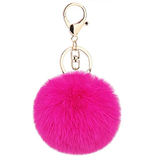 Schlüsselanhänger Plüsch Pompom Ball Taschenanhänger Handtasche Anhänger Handtaschenanhänger Keychain Dekor Pusheng