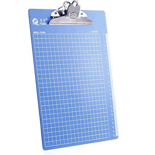 ファイルフォルダーA4 / A510ライティングボードパッドクリップデータブックボードフォルダーメニューチケット収納クリップ (色 : Butterfly clip, サイズ さいず : A5)